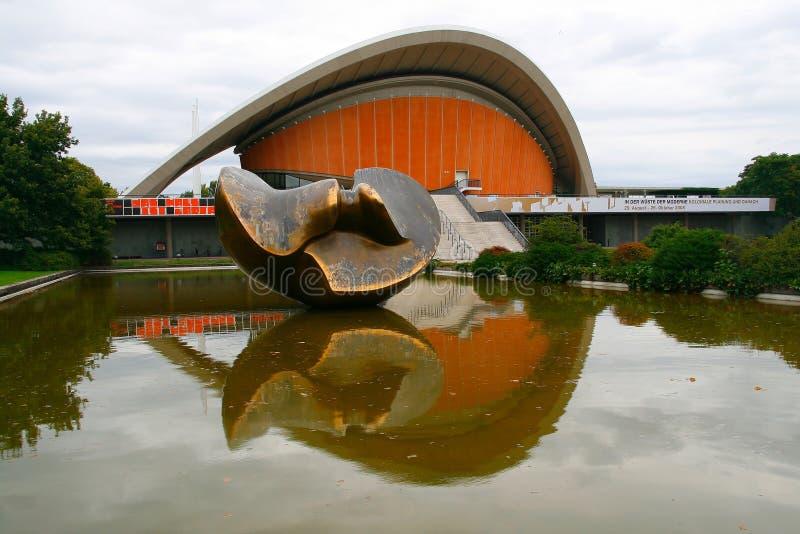 Huis van de Culturen van de Wereld stock afbeeldingen