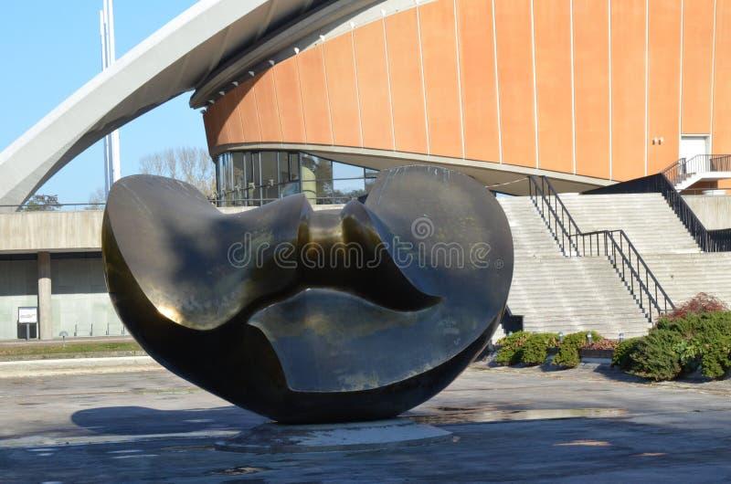 Huis van de Culturen van de Wereld stock afbeelding