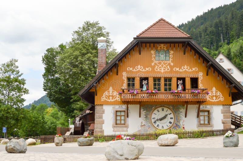 Huis van de koekoek van Hofgut Sternen royalty-vrije stock foto's