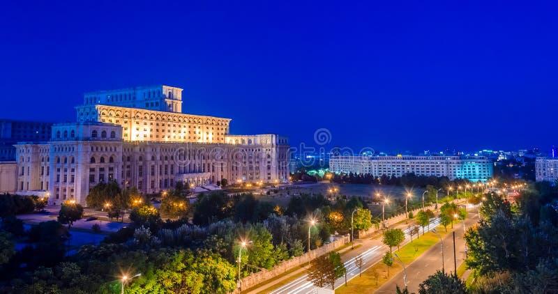 Huis van de mensen, Boekarest royalty-vrije stock afbeeldingen