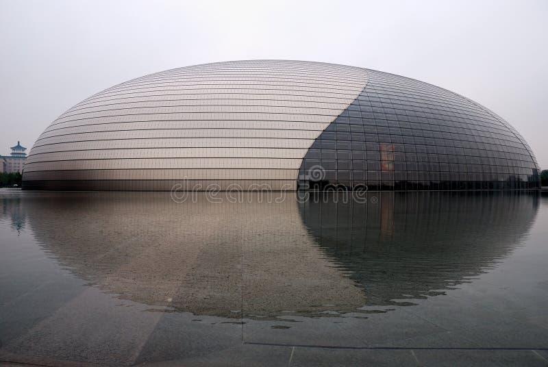 Huis van de Opera van China het Nationale stock afbeelding