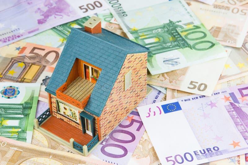 Huis van Geld royalty-vrije stock foto's