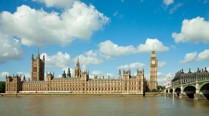 Huis van het Parlement royalty-vrije stock afbeeldingen