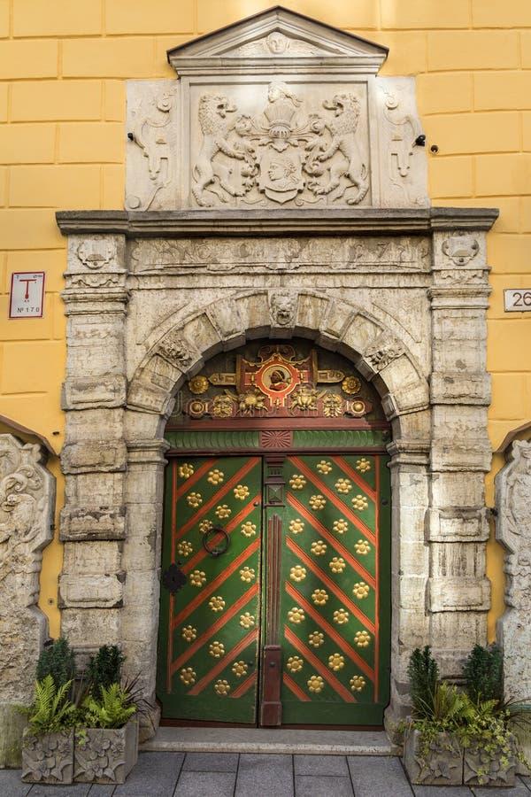Huis van Meeëters - Tallinn - Estland stock fotografie