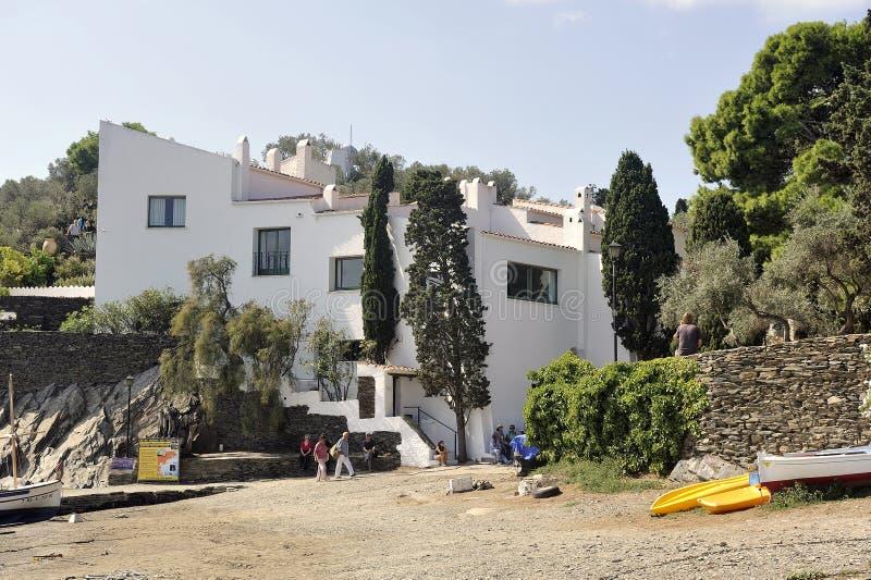Huis van Salvador Dali in Cadaques in Catalonië royalty-vrije stock fotografie
