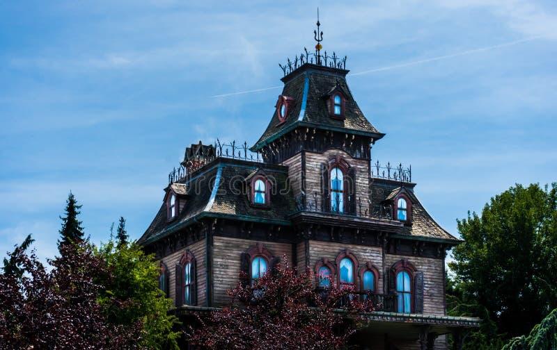Huis van vreesaantrekkelijkheid royalty-vrije stock afbeeldingen