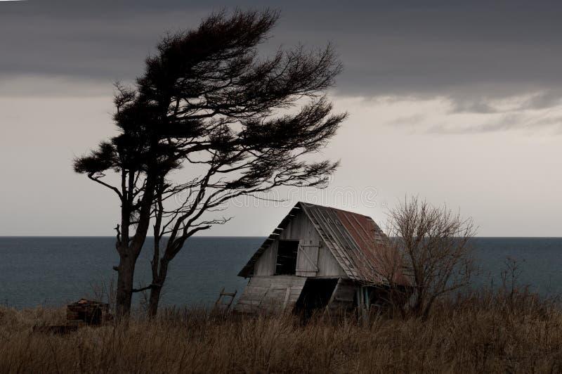 Huis van wind royalty-vrije stock afbeelding