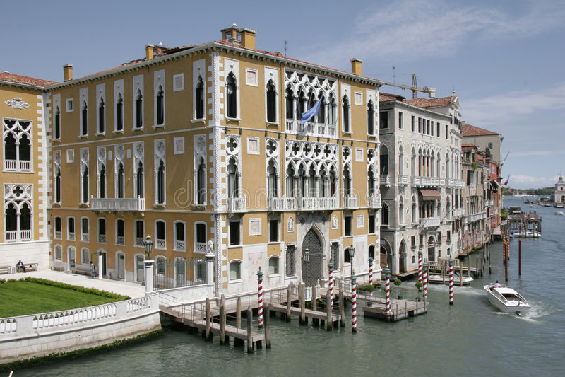 Huis in Venetië stock foto
