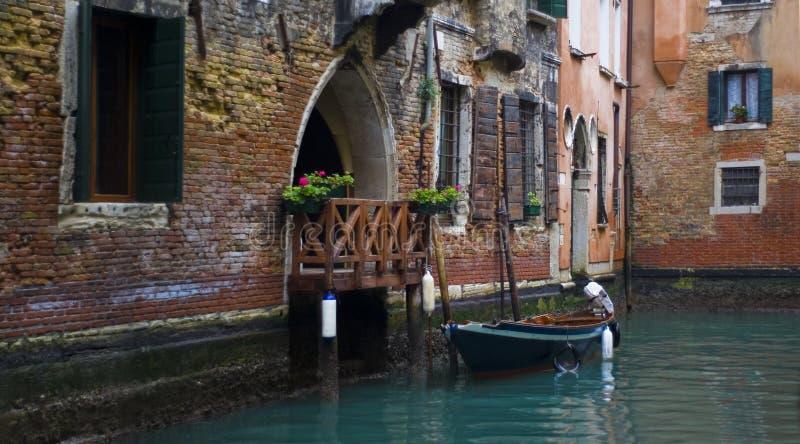 Huis in Venetië, Italië royalty-vrije stock afbeeldingen