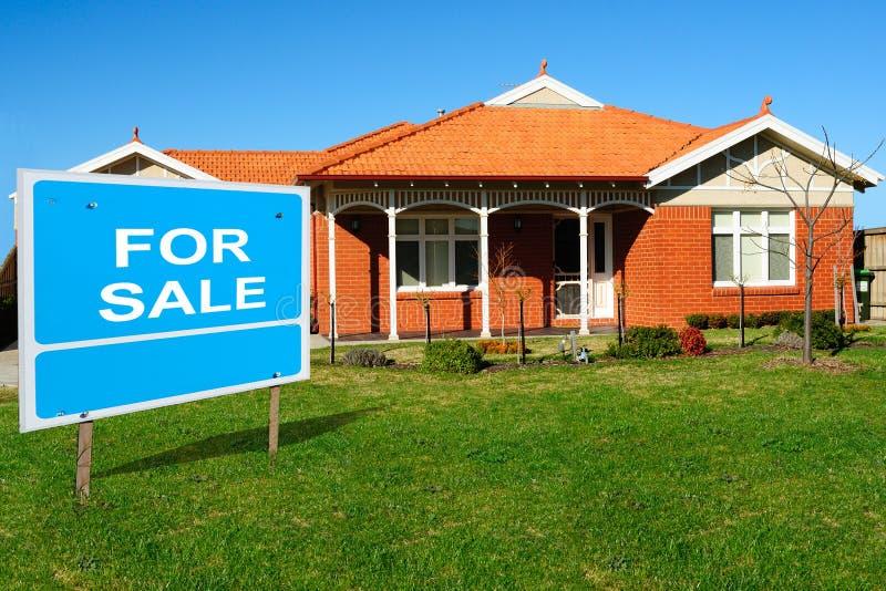 Huis voor Verkoop royalty-vrije stock foto
