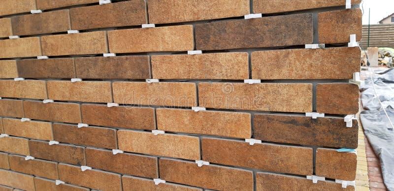 Huisbouw facade royalty-vrije stock foto