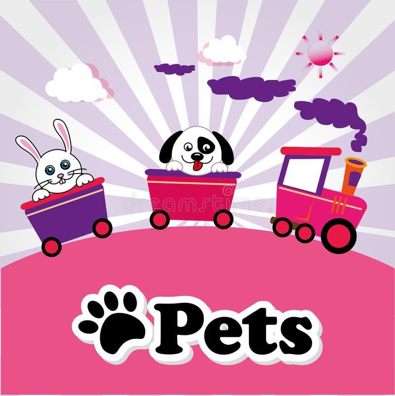 huisdieren vector illustratie