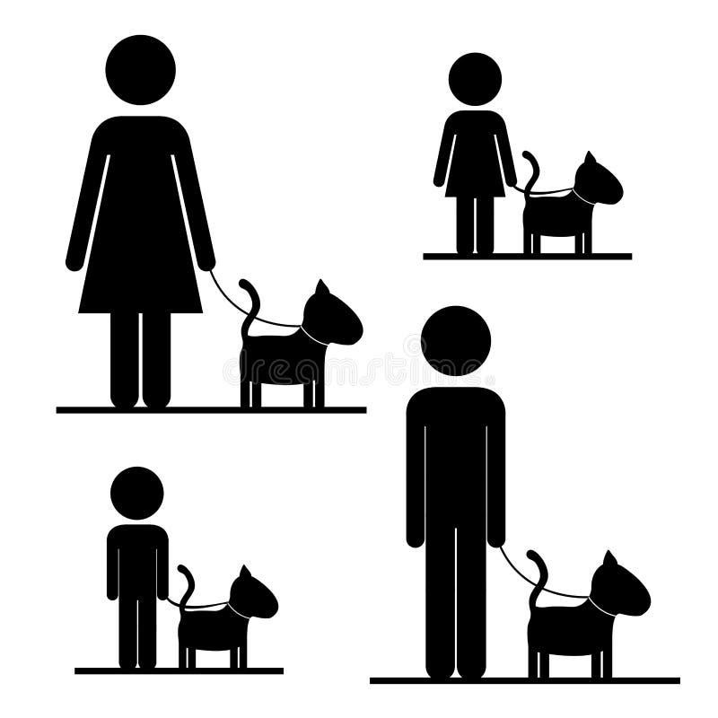 Huisdierenontwerp royalty-vrije illustratie