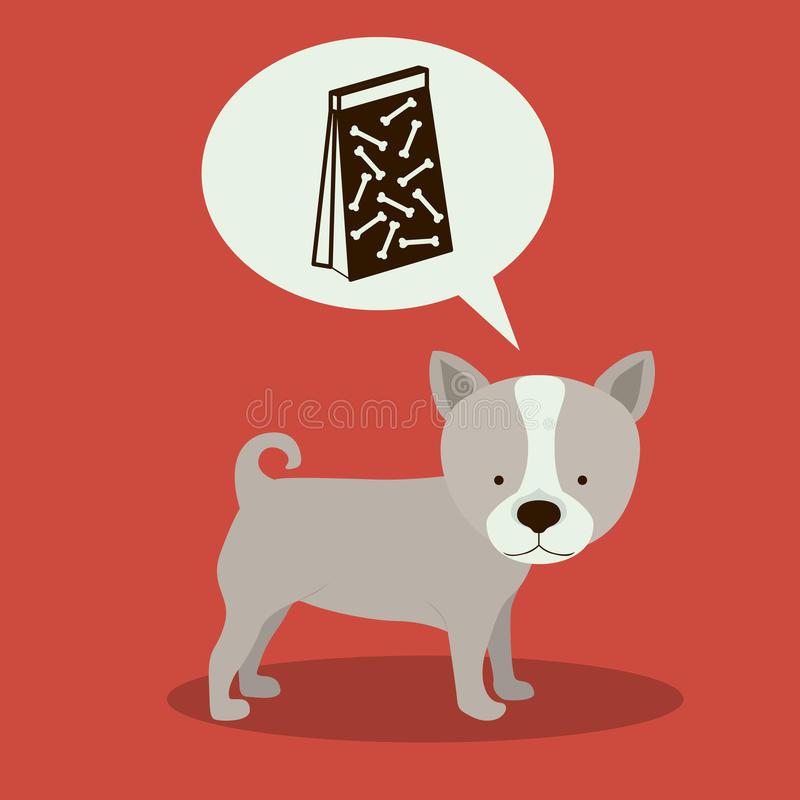 Huisdierenontwerp stock illustratie