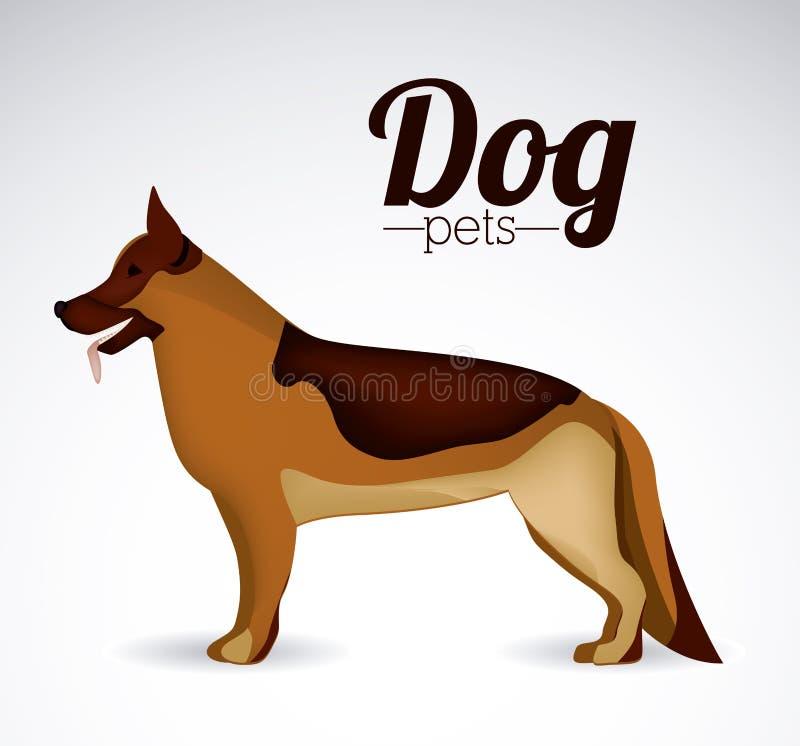 Huisdierenontwerp vector illustratie