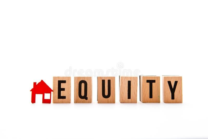Huisgelijkheid stock foto