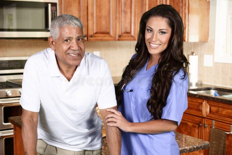 Huisgezondheidszorg stock foto's