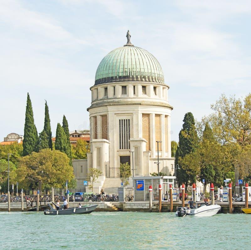 Huishoudelijke gebouwen nabij de stad Venetië royalty-vrije stock foto's
