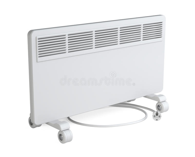 Huismateriaal om elektrisch te verwarmen - bedrieg stock illustratie