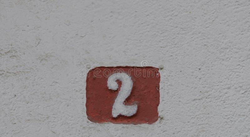Huisnummers royalty-vrije stock fotografie