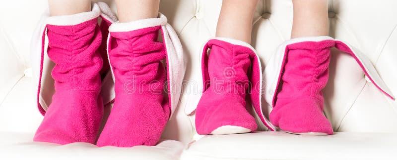 Huisschoenen stock fotografie
