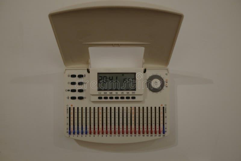 Huisthermostaat stock foto