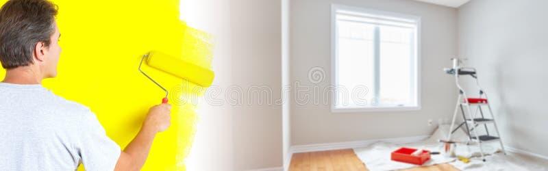 Huisvernieuwing stock afbeeldingen