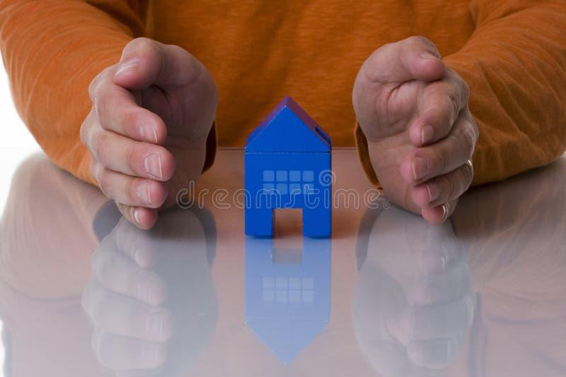 Huisvest bescherming stock afbeeldingen