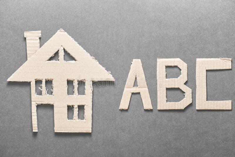 Huisvesting ABC stock afbeeldingen