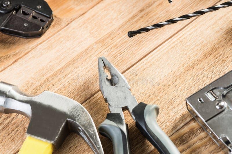 Huisvesting en huisreparatie stock afbeeldingen