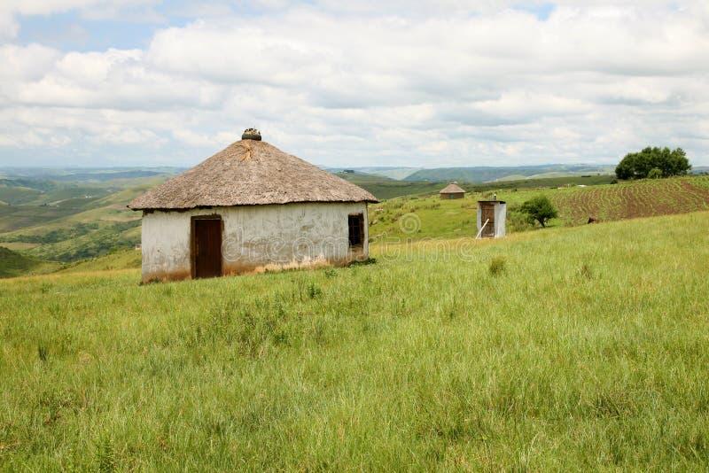 Huisvesting in Zuid-Afrika stock afbeelding