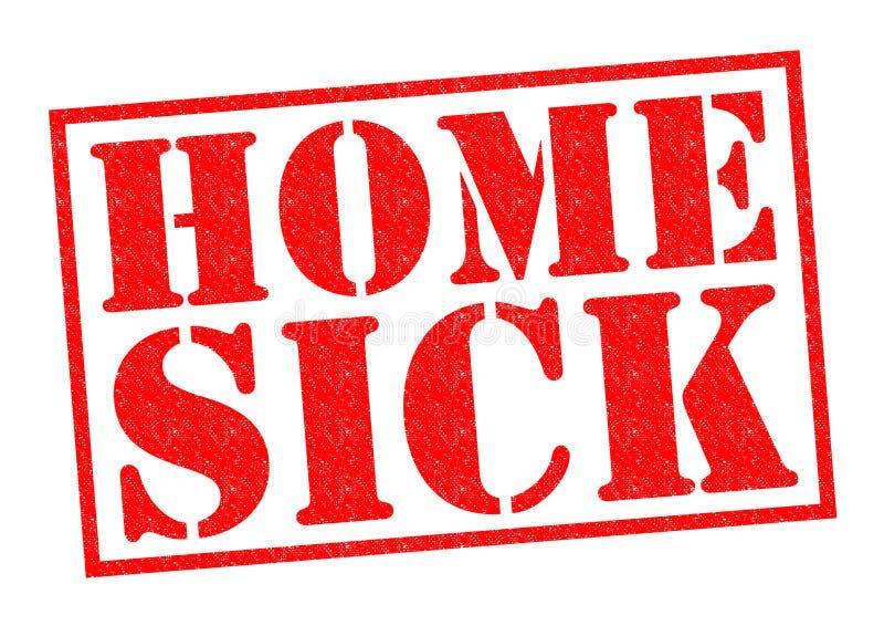Huiszieken stock illustratie