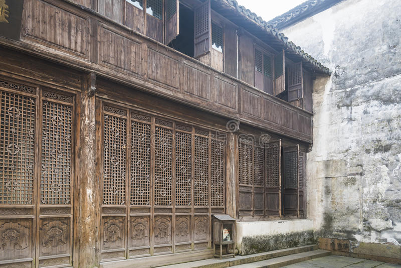 Huiyuan pawnshop royalty free stock images