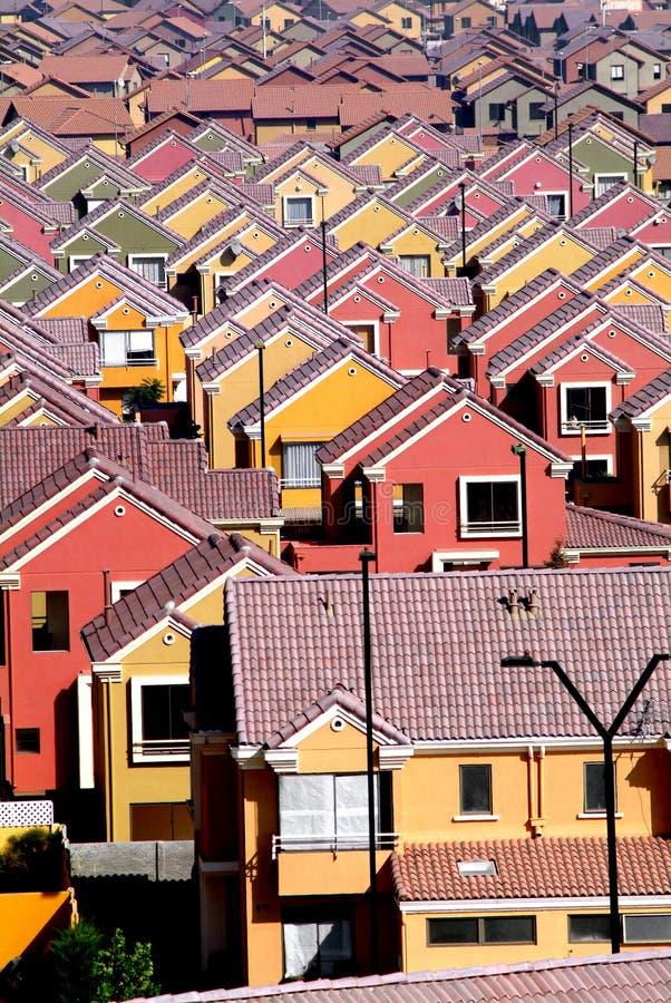 Huizen stock afbeeldingen