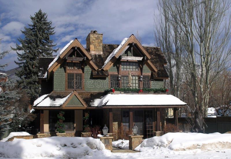 Huizen 9 van de esp stock foto's