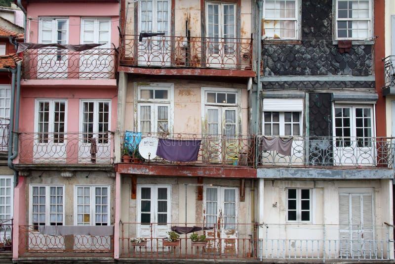 Huizen in Porto Portugal royalty-vrije stock afbeelding