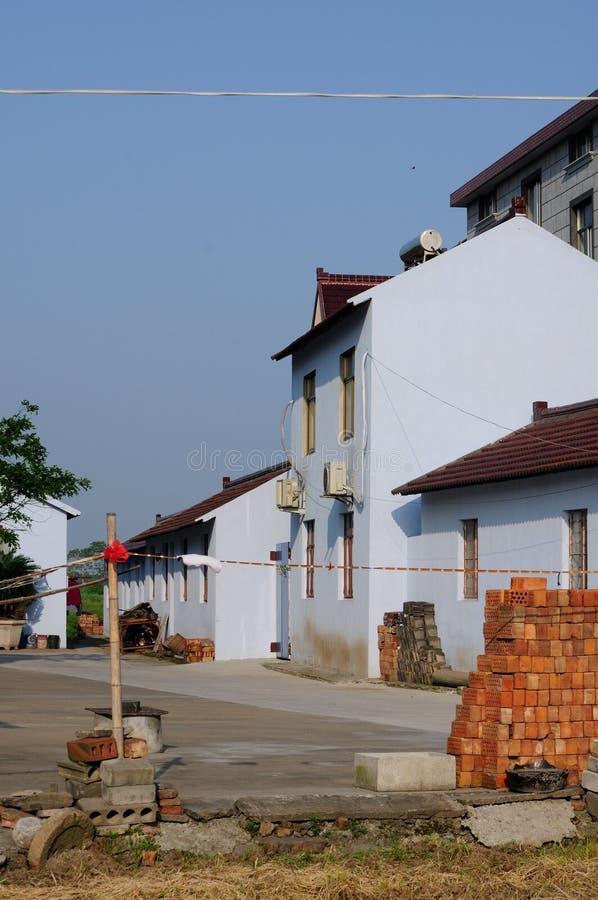 Huizen in Pudong Shanghai China stock fotografie