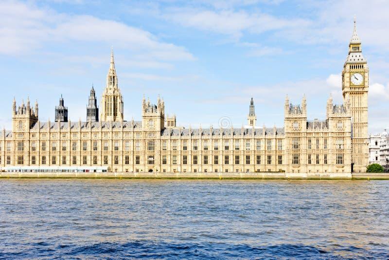 Huizen van het Parlement stock afbeelding