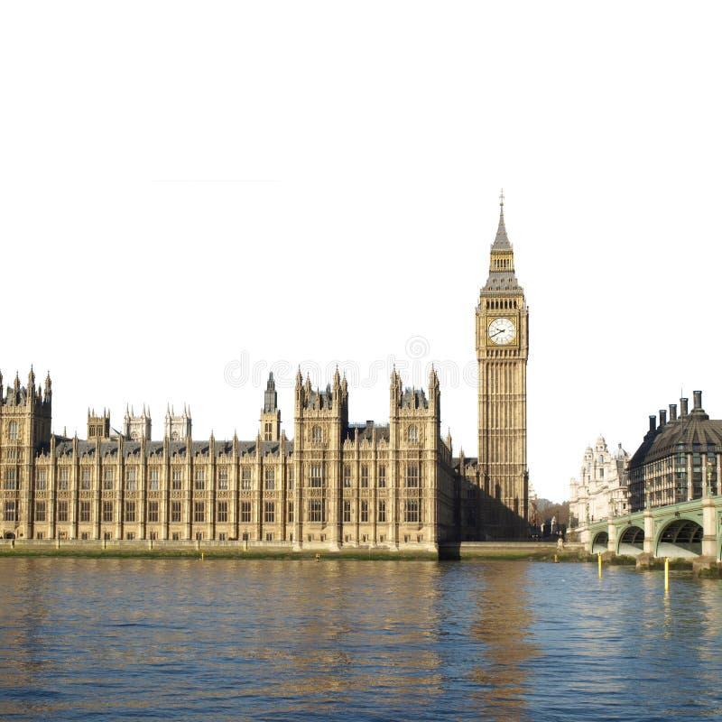 Huizen van het Parlement, Londen stock foto