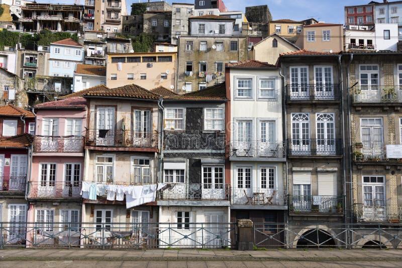 Huizen van Porto royalty-vrije stock afbeelding
