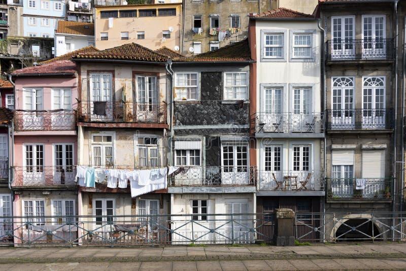 Huizen van Porto stock foto's