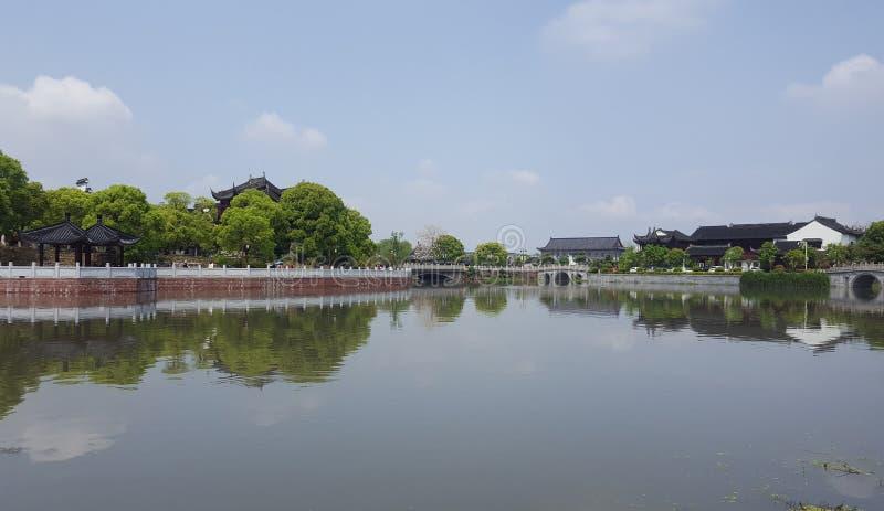 Huizhou architecture, also known as huizhou architecture, was popular in huizhou imagens de stock royalty free