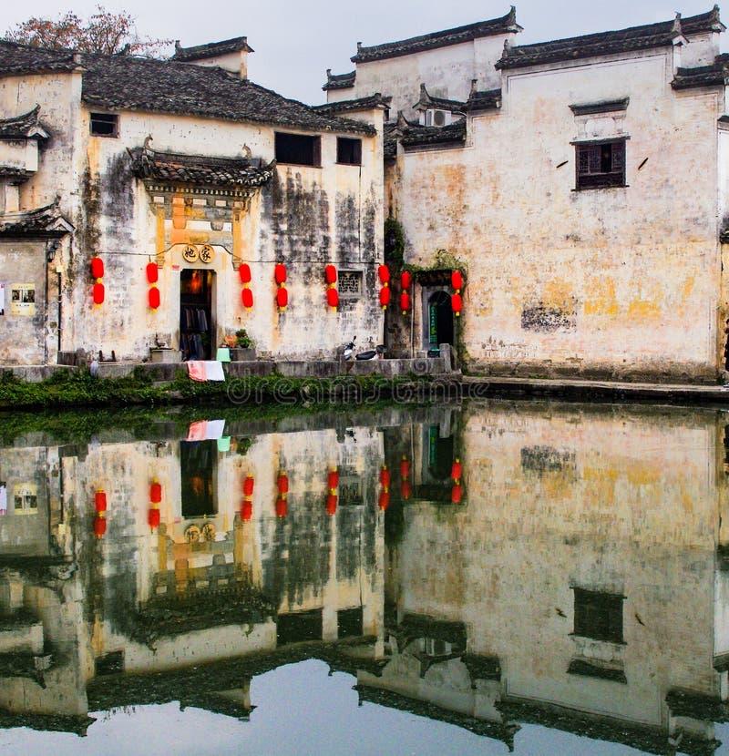 Huizhou-Architektur stockbilder