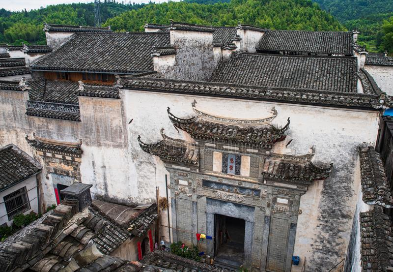 Huizhou-Architektur in China lizenzfreie stockfotografie