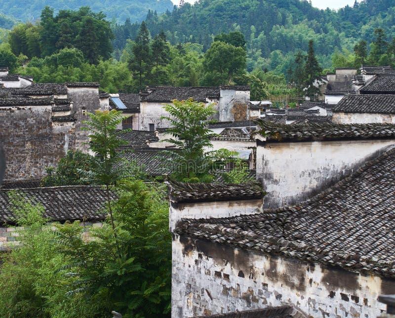 Huizhou-Architektur von Xidi-Dorf lizenzfreie stockfotografie