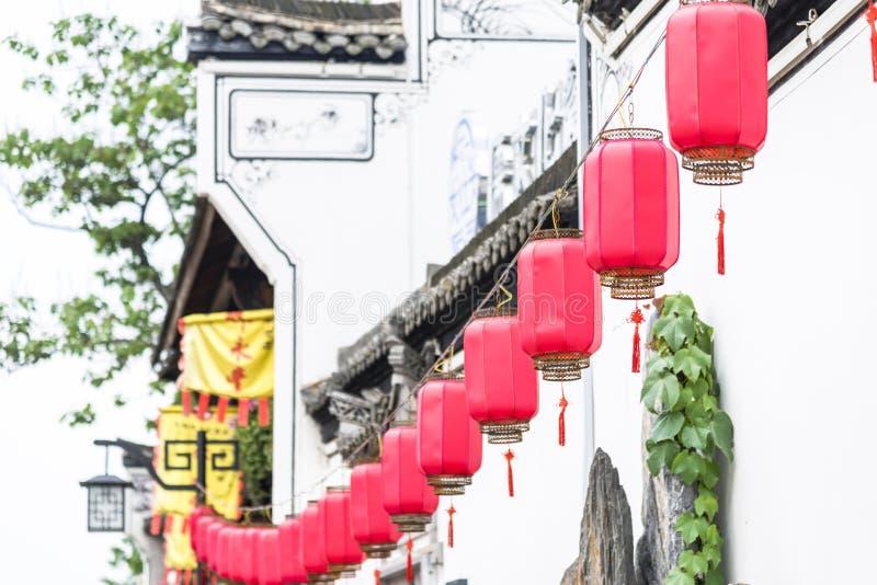 Huizhou arkitektur arkivbild