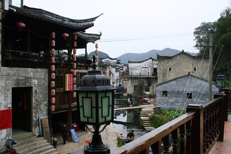 Huizhouarchitectuur royalty-vrije stock foto