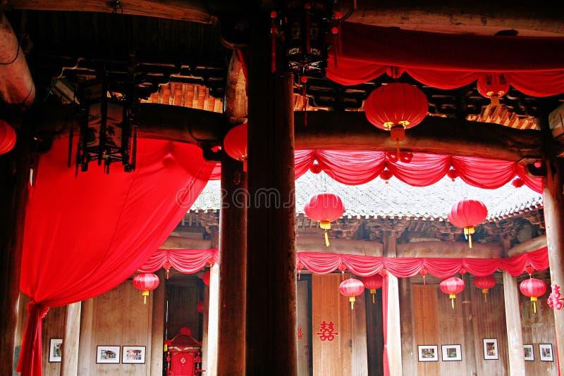 Huizhouarchitectuur stock fotografie