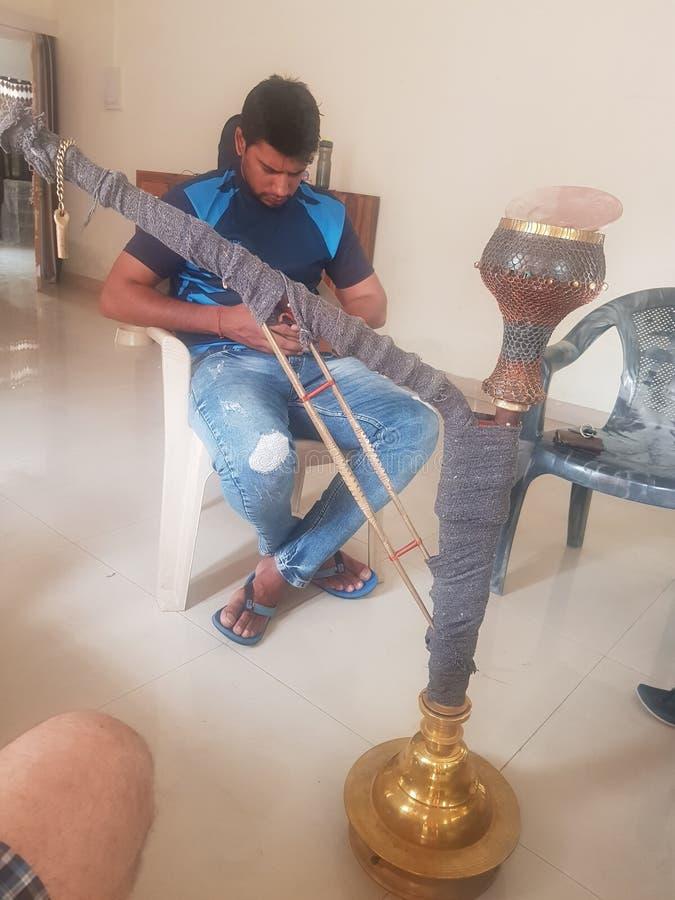 Huka для royality Индии стоковые изображения rf