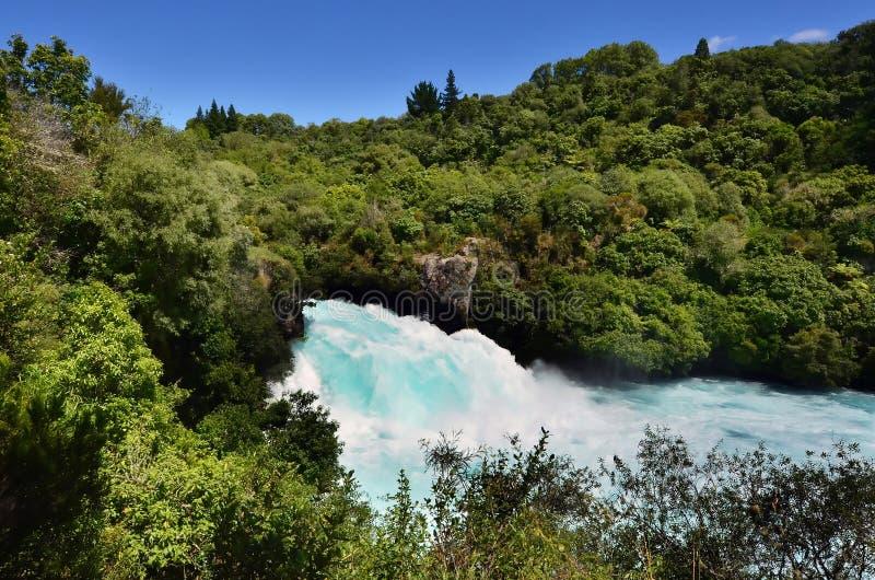 Huka tombe la Nouvelle Zélande photo stock